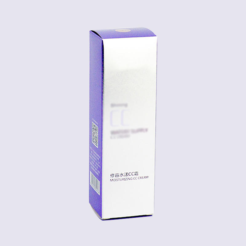 CMYK Printing Cosmetics Paper Packaging Box