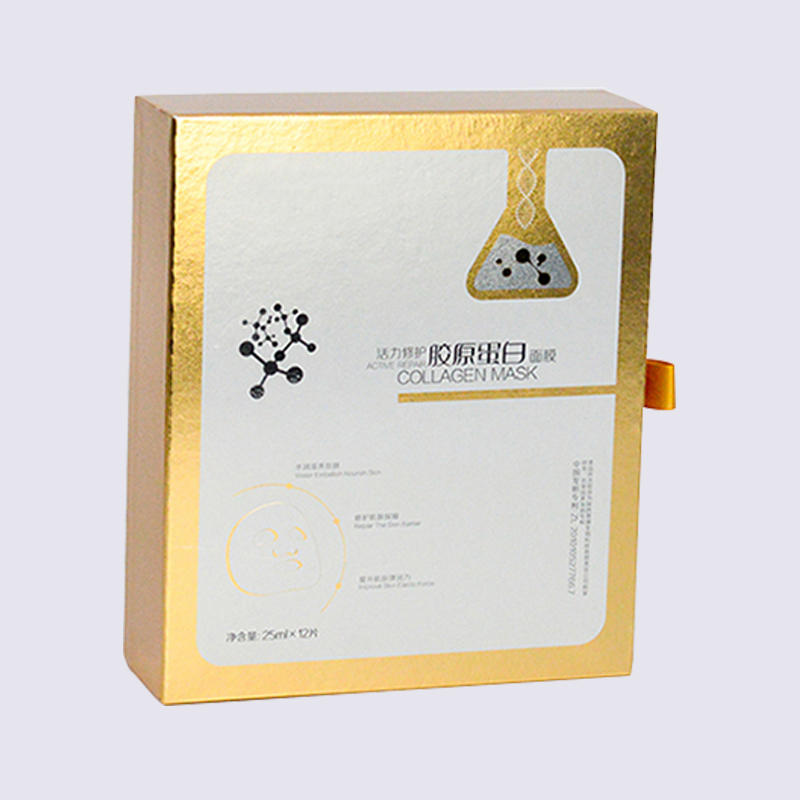 Drawer Cosmetic Packaging Boxes Paper Material