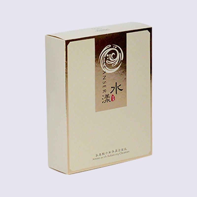Silver Cardboardcosmetics Paper Packaging Box