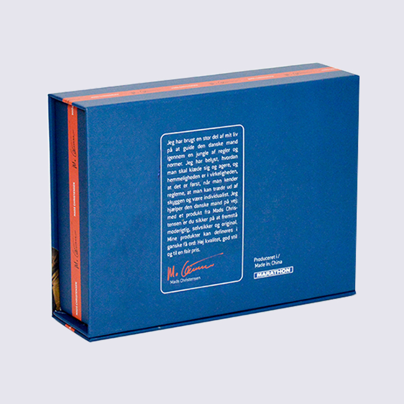 SWIFT magnetic sock cardboard packaging box With clear PVC window on the cover Underwear Cardboard Box image14