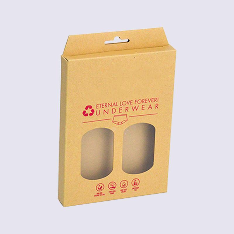 kraft underwear packaging box For ladies,men,children's underwear packing