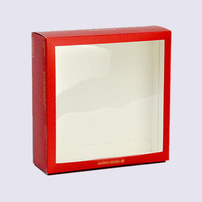 Clothes Packaging Boxes With Window And Hook