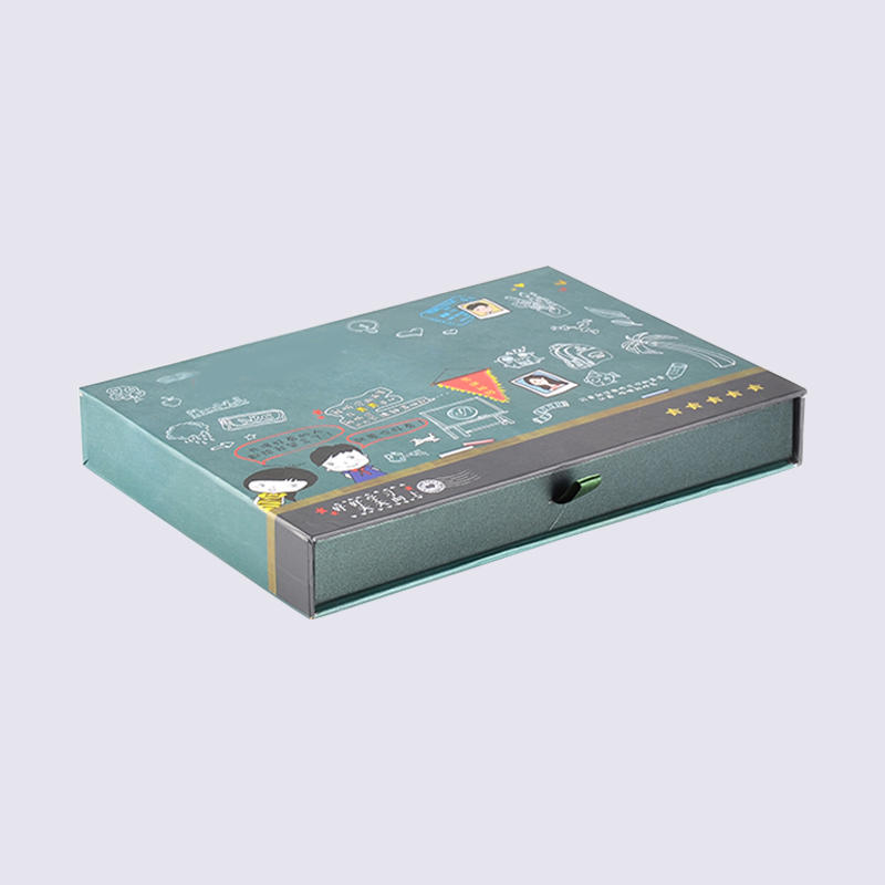 Drawer Cardboard Cosmetic Packaging Boxes and Gift Box Cartoon