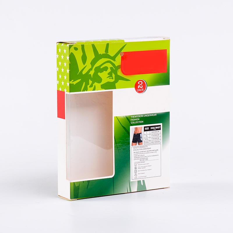 Cmyk Printing Underwear Paper Packaging Box