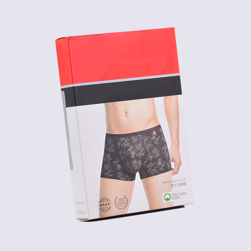 SWIFT 400g Coated Paper Underwear Packaging Boxes Underwear Cardboard Box image3