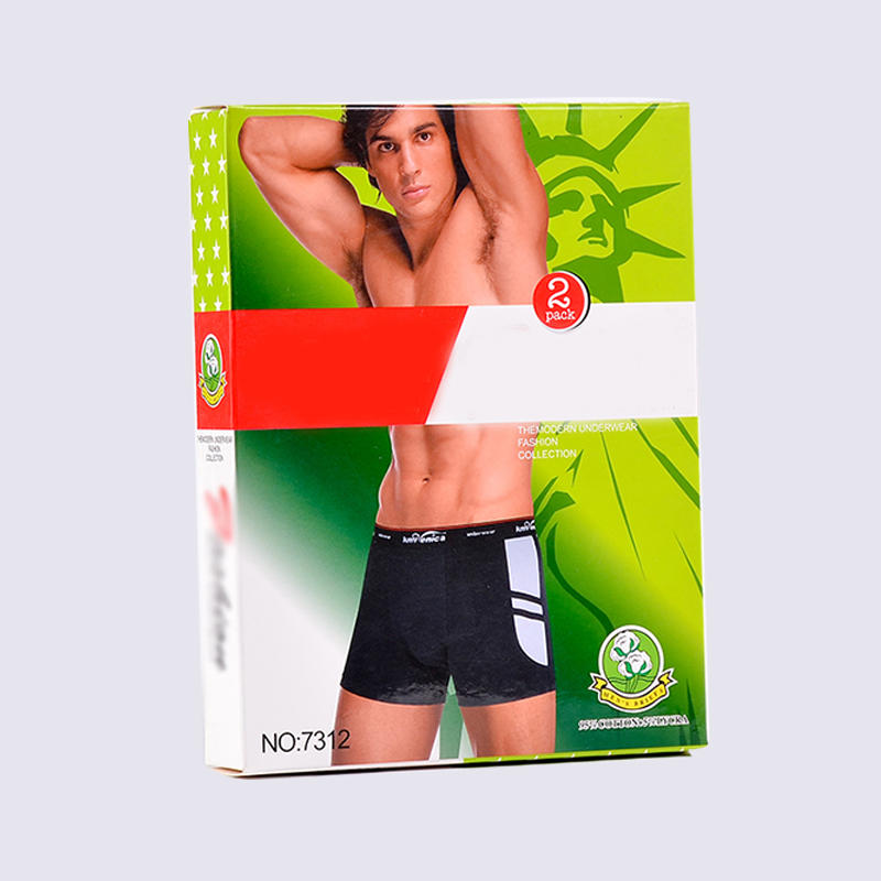 Cmyk Printing Underwear Paper Packaging Box