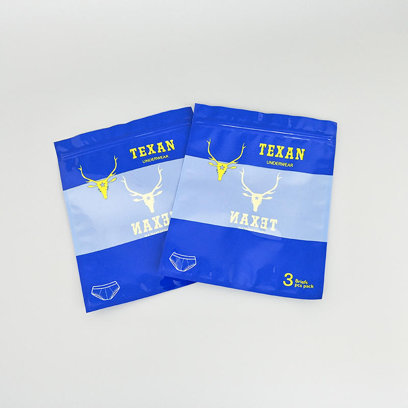 Underwear Clothes Eco-Friendly Packaging Pp Bags