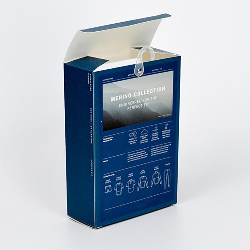 400g Underwear Cardboard Paper Packaging Box