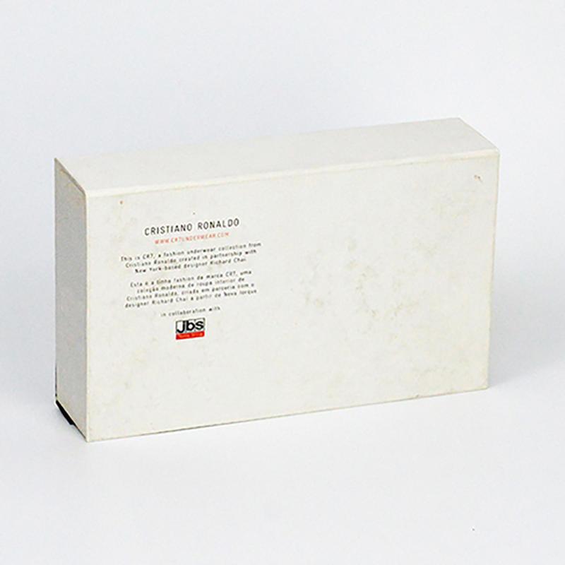 Eco-Friendly Underwear Cardboard Packaging Box