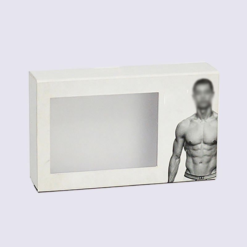 Eco-Friendly Underwear Cardboard Packaging Box