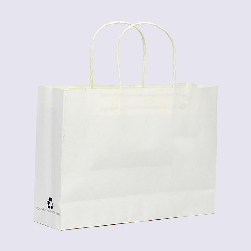 Custom Kraft Gift Paper Bag With Your Own Logo