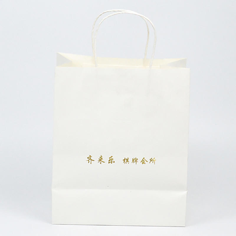Guangzhou Gift Paper Packaging Bag With Handle