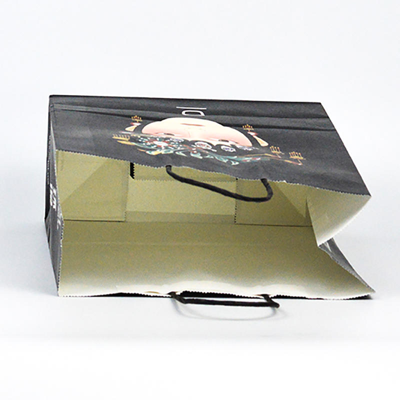 Recycle Kraft Gift Paper Bag With Custom Logo