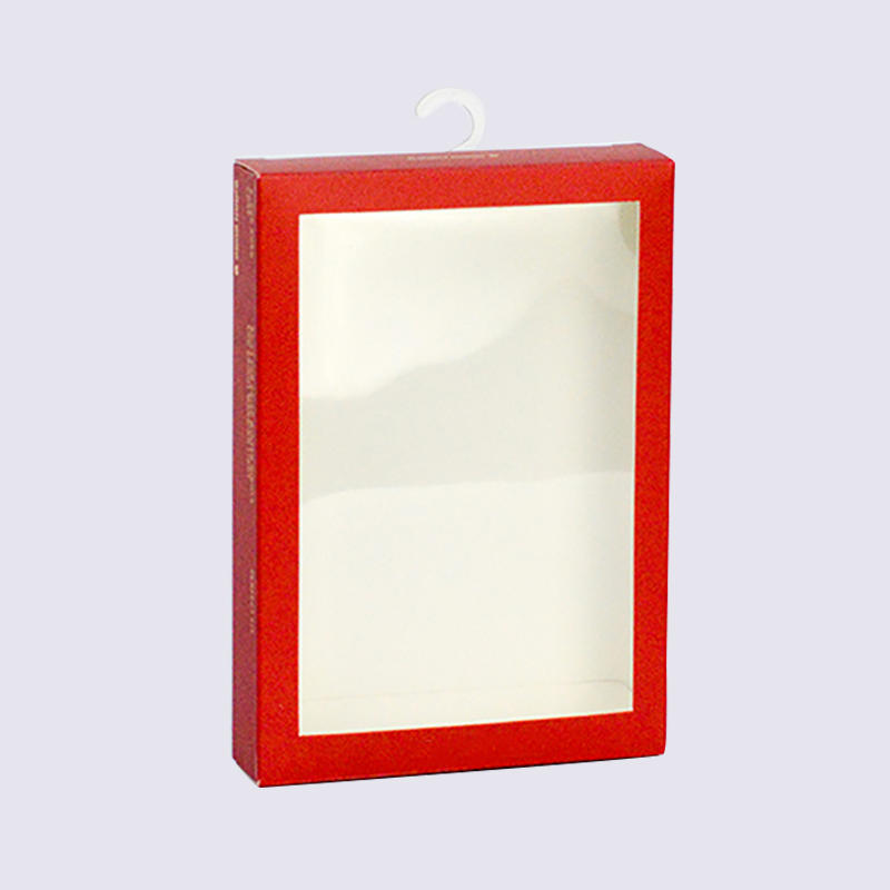 350g Coated Paper Underwear Cardboard Packaging Box