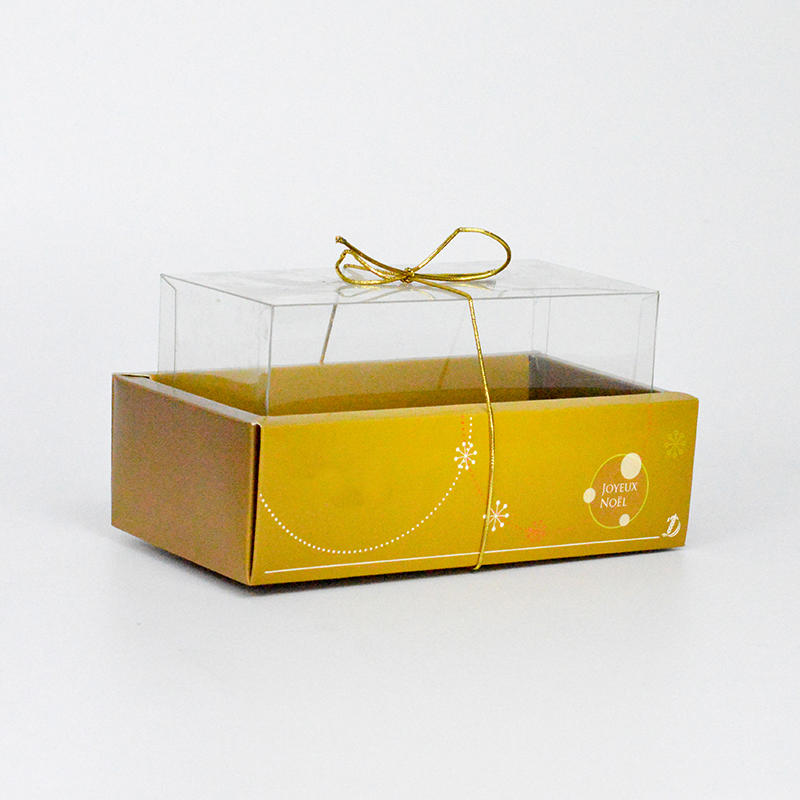 Cardboard Gift Boxes With Clear Plastic Cover