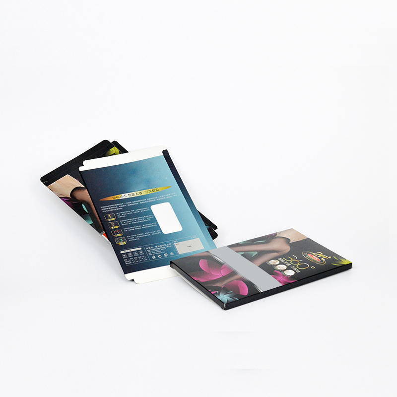 Fashion Coated Paper Underwear Packaging Box