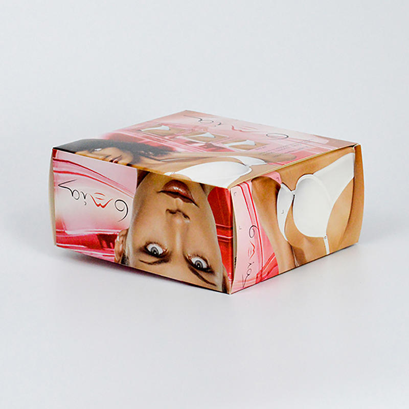 350g Coated Paper Underwear Packaging Box
