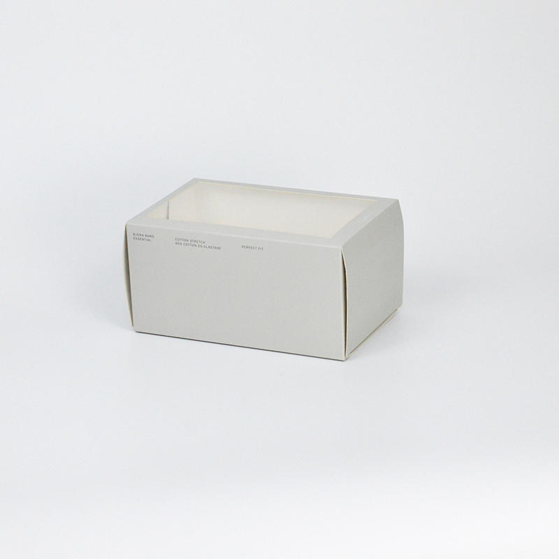 High Quality Paper Underwear Packing Box Custom Size