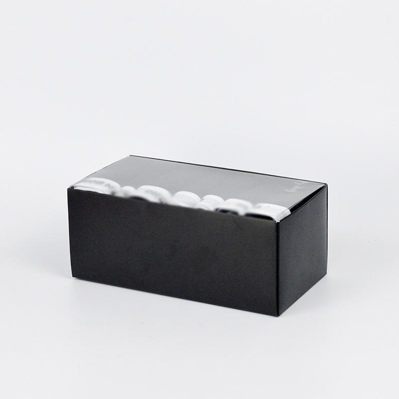 Black Paper Underwear Packaging Box Custom Logo