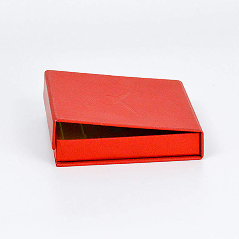 Red Gift Paper Cardboard Packaging Boxes