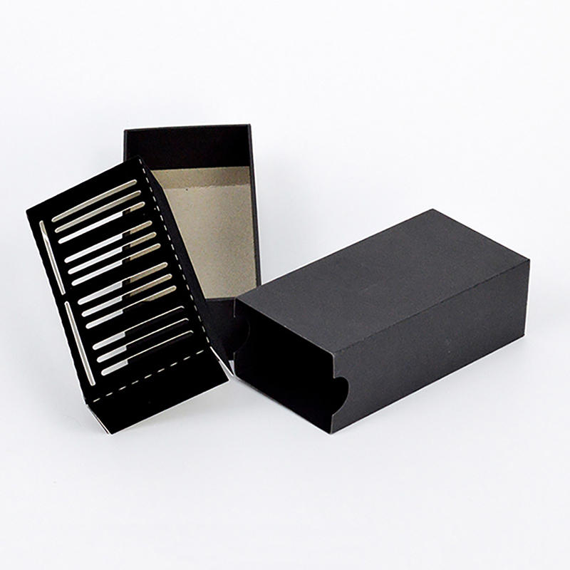 Black Cardboard Gift Paper Packaging Box