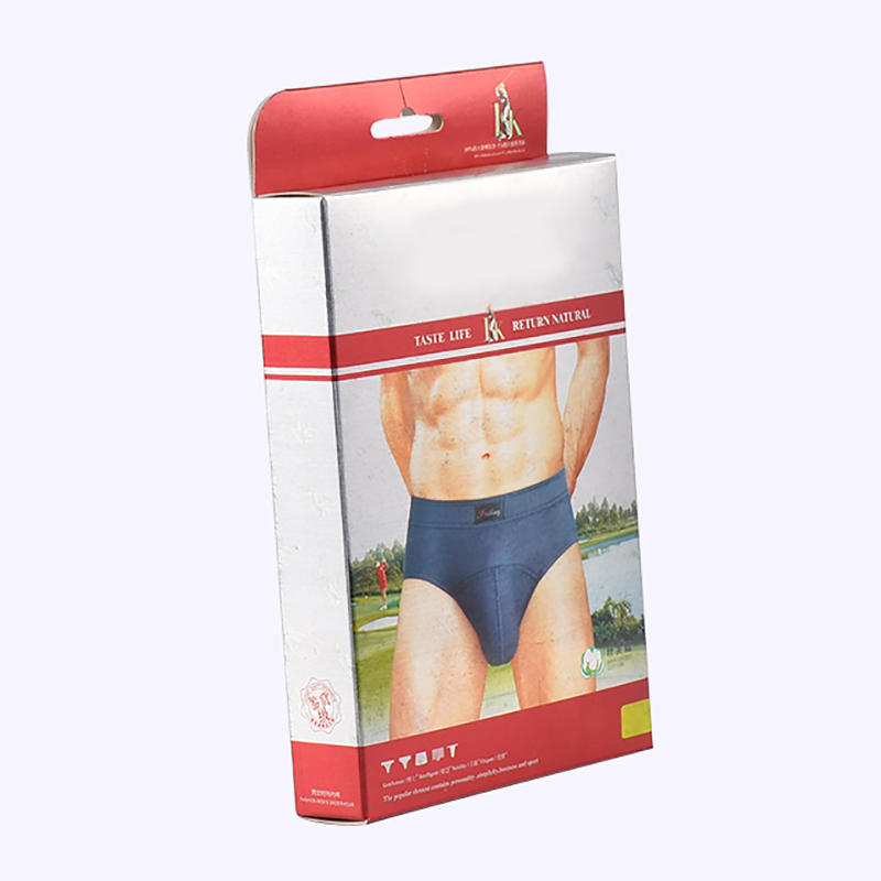 Coated Paper Material Underwear Cardboard Box