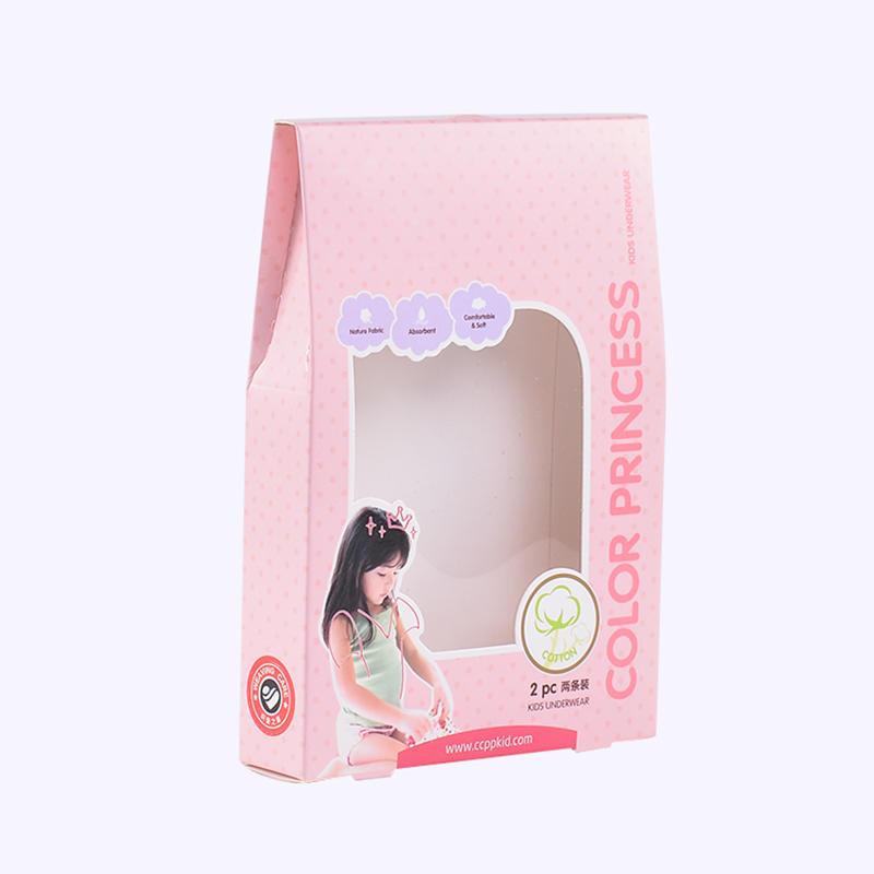 Children's Underwear Cardboard Packaging Box
