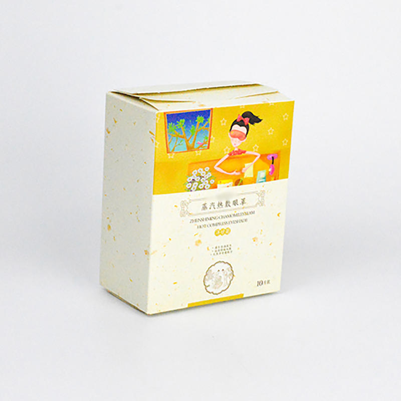 Coated Paper Package Box Small Gift Packaging Box