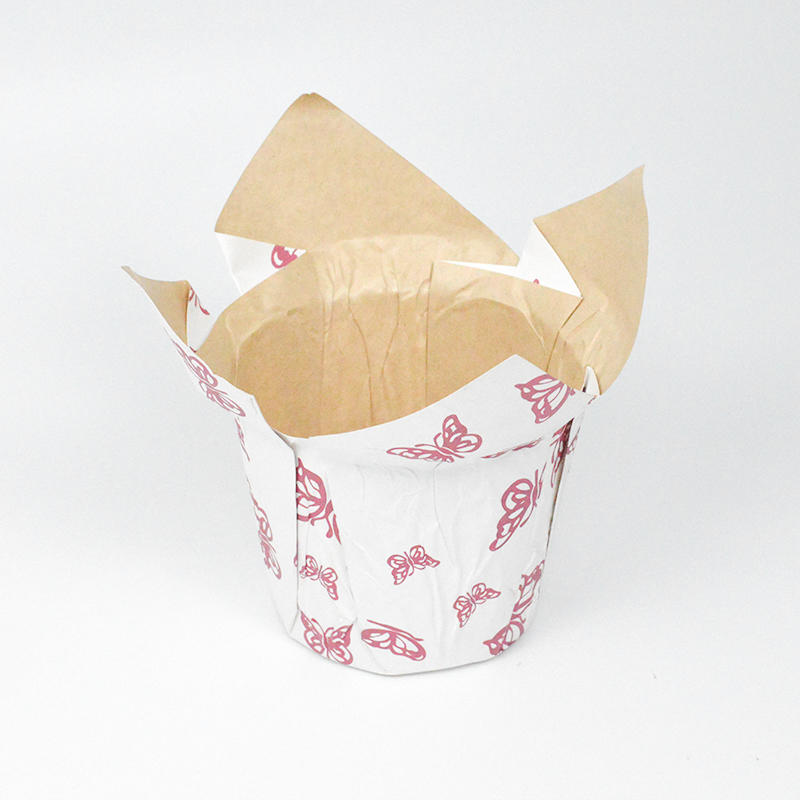 Kraft Paper Flower Pot Cover It Is Waterproof