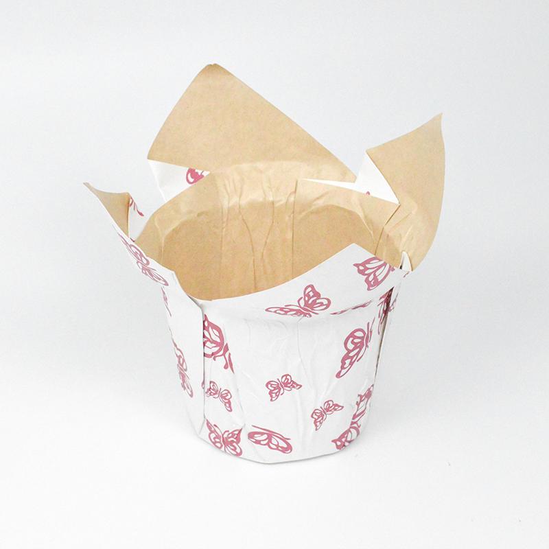 Kraft Paper Flower Pot Cover It Is Waterproof