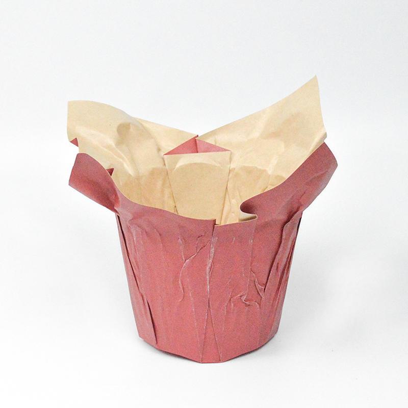 High Quality Waterproof Kraft Paper Flower Pot Cover