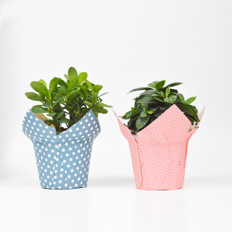 Kraft Paper Flower Pot Covers For Decoration