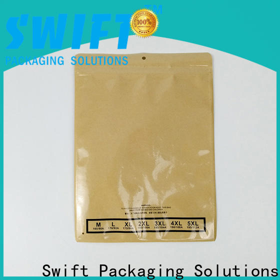 SWIFT high-quality paper shopping bags directly sale for jacket
