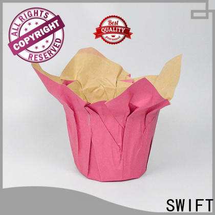 SWIFT custom paper pot cover factory price for decoration