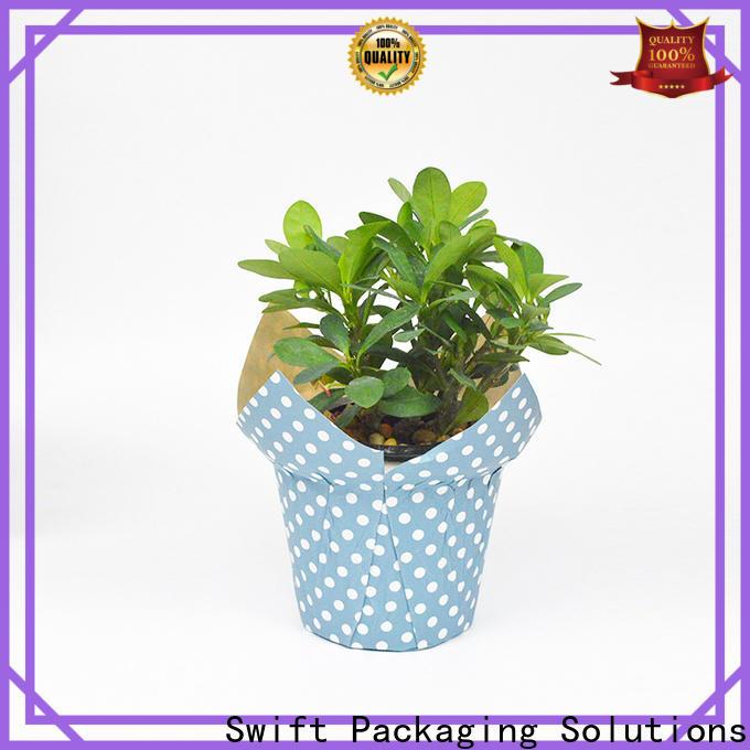 SWIFT flower pot cover manufacturer for decoration