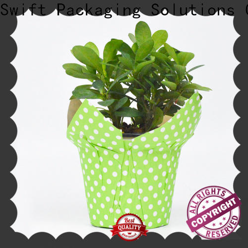 SWIFT top paper pot cover directly sale for decoration