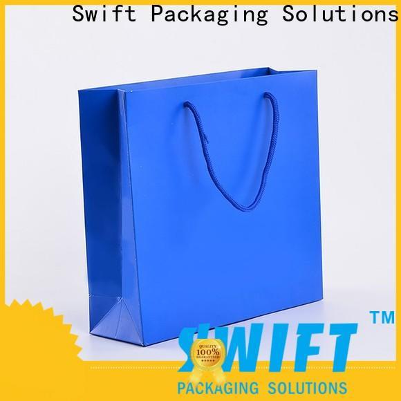 custom paper shopping bags customized for swimwear