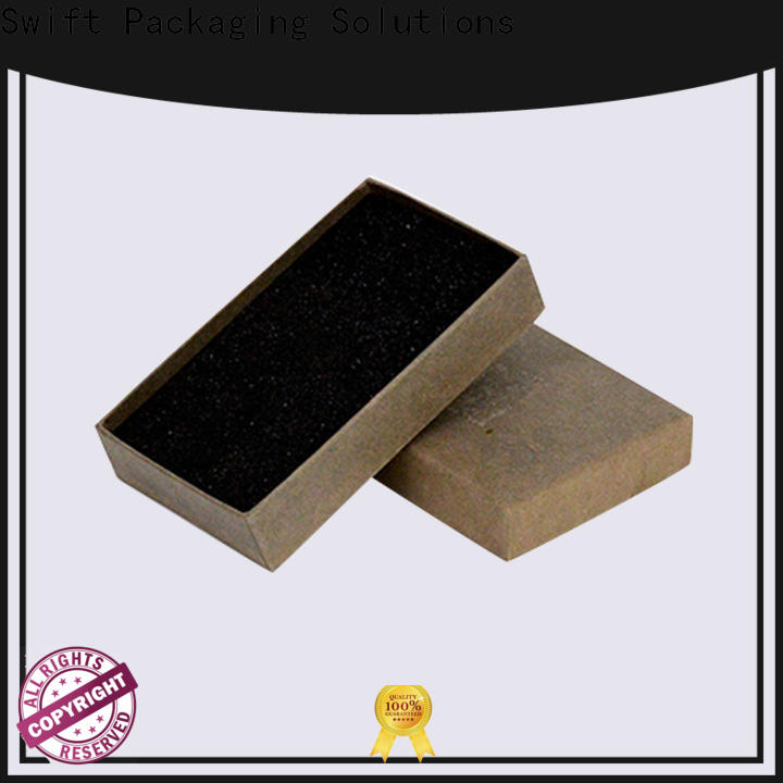 SWIFT cardboard jewelry boxes supplier for rings