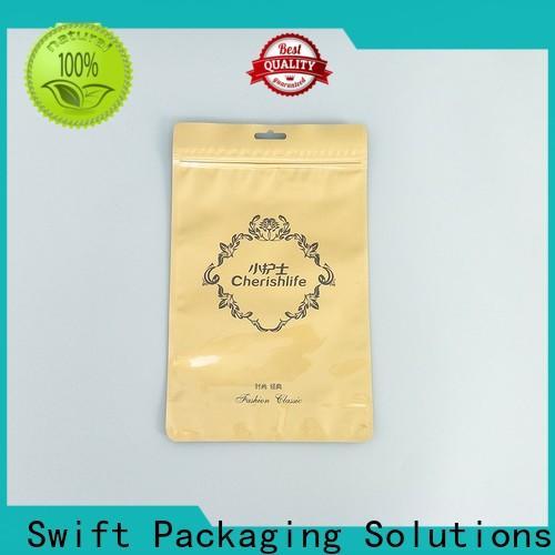 wholesale custom printed plastic bags factory price for panties