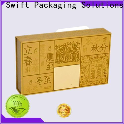 SWIFT cardboard food packaging factory price for snacks
