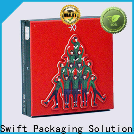 SWIFT custom cardboard gift boxes directly sale for Christmas
