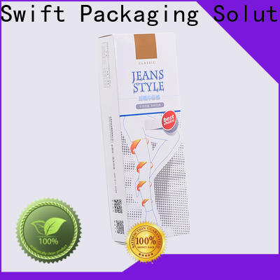 SWIFT printed t shirt packaging boxes customized for garment