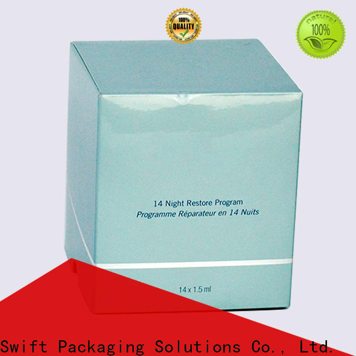 SWIFT custom makeup box factory for skin care products