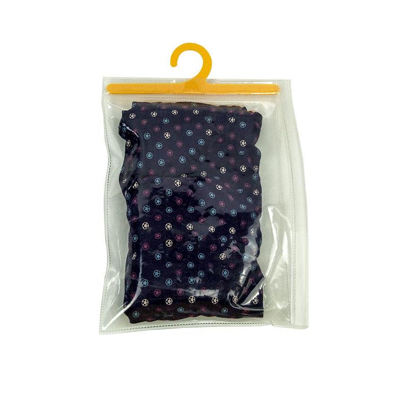 High Quality Customized Logo Printing Underwear Packaging Transparent Ziplock Bags
