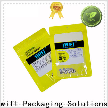 wholesale personalized plastic bags with good price for panties