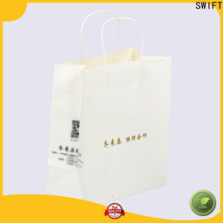 SWIFT high-quality paper gift bags wholesale customized for holiday