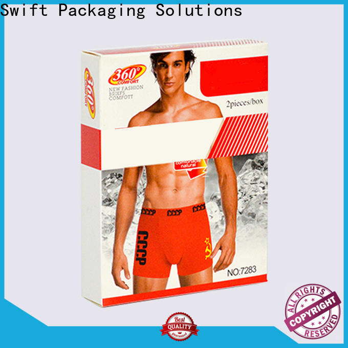 SWIFT wholesale product packaging boxes supplier for men
