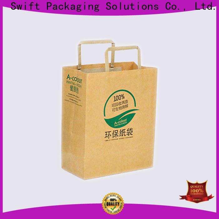 SWIFT paper shopping bags customized for swimwear