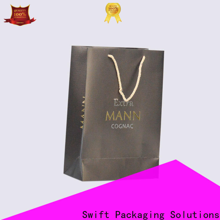 SWIFT paper carrier bags customized for t shirt