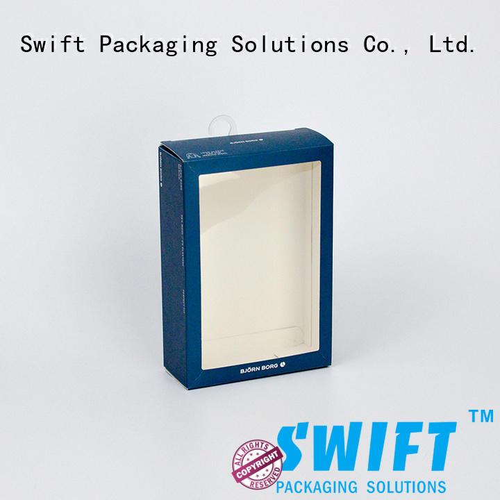 SWIFT Brand packaging design underwear packaging boxes box underwear